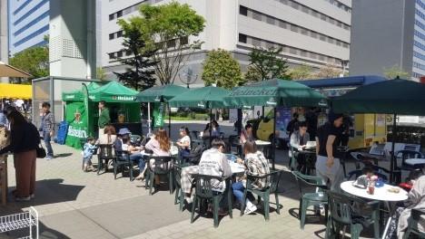 サンサンロード・オープンカフェ 参考画像(2017年5月)